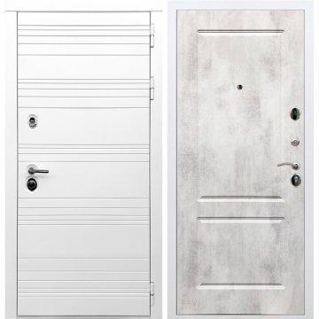 Входная дверь Классика ФЛ-117 Бетон светлый