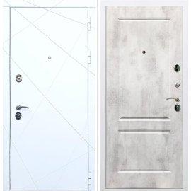 Входная металлическая дверь Сенатор Олимпия - 13 ФЛ-117 Бетон светлый