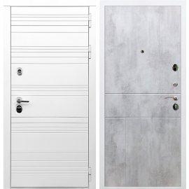 Входная металлическая дверь Сенатор Классика ФЛ-290 Бетон светлый