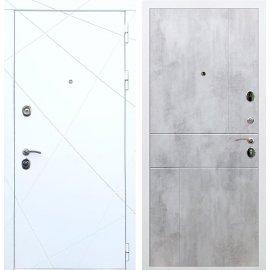 Входная металлическая дверь Сенатор Олимпия - 13 ФЛ-290 Бетон светлый