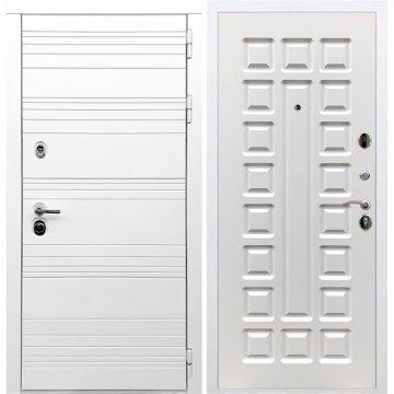 Входная дверь Классика ФЛ-183 Белый ясень