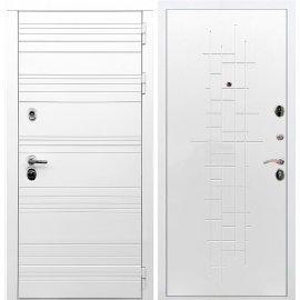 Входная металлическая дверь Сенатор Классика ФЛ-289 Белый ясень