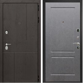 Входная металлическая дверь Сенатор Ультиматум ФЛ-117 Штукатурка графит