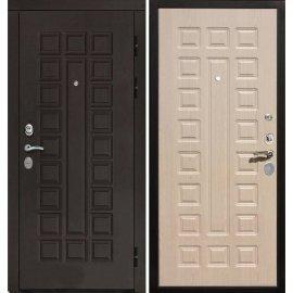 Входная дверь Сенатор с замком CISA 57.966 ФЛ-183 Беленый дуб