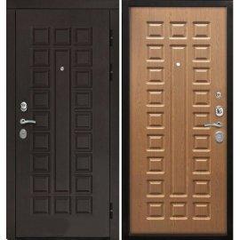 Входная дверь Сенатор с замком CISA 57.966 ФЛ-183 Дуб светлый