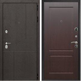 Входная металлическая дверь Сенатор Ультиматум ФЛ-117 Орех премиум