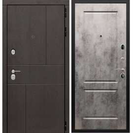 Входная металлическая дверь Сенатор Ультиматум ФЛ-117 Бетон темный