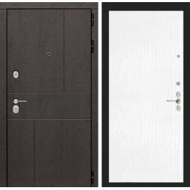 Входная металлическая дверь Сенатор Ультиматум ФЛ-7 Белое дерево