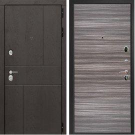 Входная металлическая дверь Сенатор Ультиматум ФЛ-5 Сандал серый