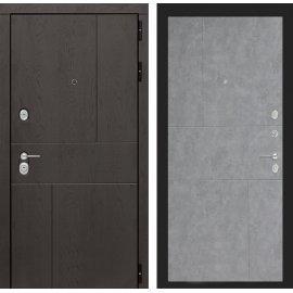 Входная металлическая дверь Сенатор Ультиматум ФЛ-290 Бетон светлый
