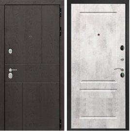Входная металлическая дверь Сенатор Ультиматум ФЛ-117 Бетон светлый