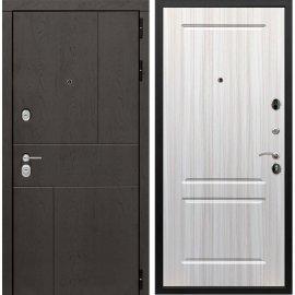 Входная металлическая дверь Сенатор Ультиматум ФЛ-117 Сандал белый