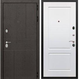 Входная металлическая дверь Сенатор Ультиматум ФЛ-117 Белый мат