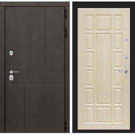 Входная металлическая дверь Сенатор Ультиматум ФЛ-12 Беленый дуб
