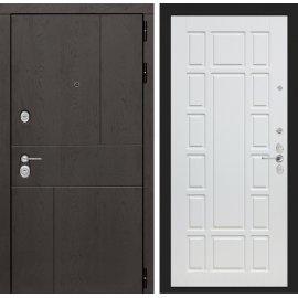 Входная металлическая дверь Сенатор Ультиматум ФЛ-12 Белое дерево