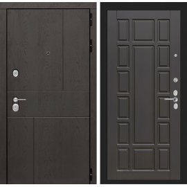 Входная металлическая дверь Сенатор Ультиматум ФЛ-12 Венге