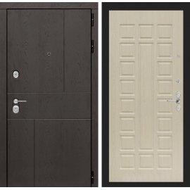 Входная металлическая дверь Сенатор Ультиматум ФЛ-4 Беленый дуб
