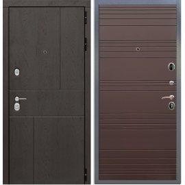 Входная металлическая дверь Сенатор Ультиматум ФЛ-316 Ясень Шоколад
