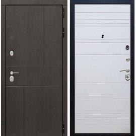 Входная металлическая дверь Сенатор Ультиматум ФЛ-316 Белый мат