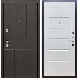 Входная металлическая дверь Сенатор Ультиматум ФЛ-193 Белый ясень