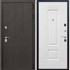 Входная металлическая дверь Сенатор Ультиматум ФЛ-2 Белый мат
