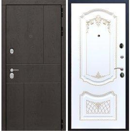 Входная металлическая дверь Сенатор Ультиматум ФЛ-63 Белый мат