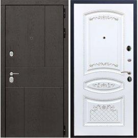 Входная металлическая дверь Сенатор Ультиматум ФЛ-64 Белый мат