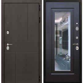 Входная металлическая дверь Сенатор Ультиматум ФЛ-120 Венге с зеркалом