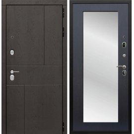 Входная металлическая дверь Сенатор Ультиматум СБ-122 Венге с зеркалом