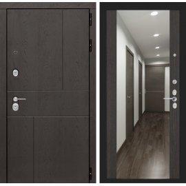 Входная металлическая дверь Сенатор Ультиматум ФЛ-16 с зеркалом Венге