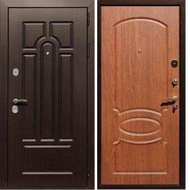 Входная дверь Сенатор Аллегро ФЛ-128 Орех Темный