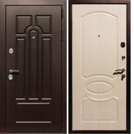 Входная дверь Сенатор Аллегро ФЛ-128 Беленый дуб