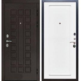 Входная дверь Сенатор с замком CISA 57.966 ФЛ-119 Белый силк сноу