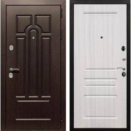 Входная дверь Сенатор Аллегро ФЛ-243 Сандал белый