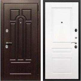 Входная дверь Сенатор Аллегро ФЛ-243 Белый силк сноу