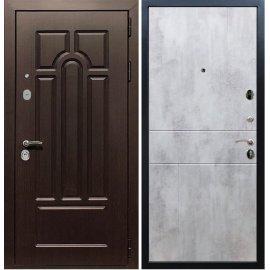 Входная дверь Сенатор Аллегро ФЛ-290 Бетон светлый