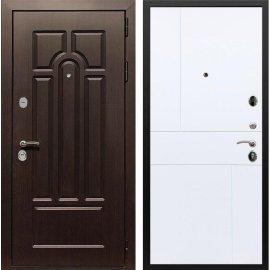 Входная дверь Сенатор Аллегро ФЛ-290 Белый силк сноу