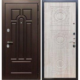 Входная дверь Сенатор Аллегро ФЛ-18 Сосна белая