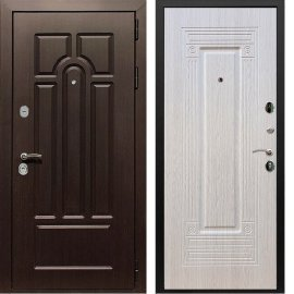 Входная дверь Сенатор Аллегро ФЛ-4 Беленый дуб