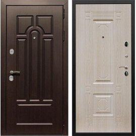 Входная дверь Сенатор Аллегро ФЛ-2 Беленый дуб