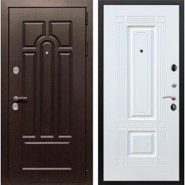 Входная дверь Сенатор Аллегро ФЛ-2 Белый силк сноу