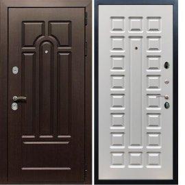 Входная дверь Сенатор Аллегро ФЛ-183 Белый ясень