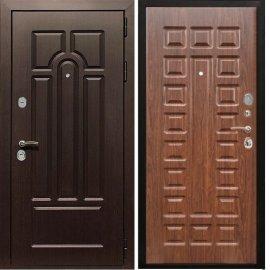 Входная дверь Сенатор Аллегро ФЛ-183 Темный орех