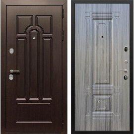 Входная дверь Сенатор Аллегро ФЛ-2 Сандал серый