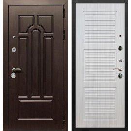 Входная дверь Сенатор Аллегро ФЛ-1 Сандал белый