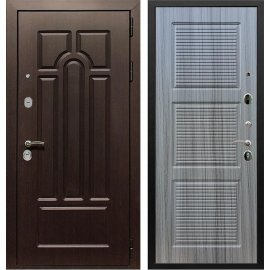 Входная дверь Сенатор Аллегро ФЛ-1 Сандал серый