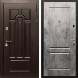 Входная дверь Сенатор Аллегро ФЛ-117 Бетон темный