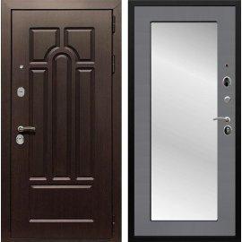 Входная дверь Сенатор Аллегро Пастораль с Зеркалом Графит софт