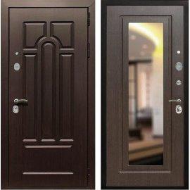 Входная дверь Сенатор Аллегро с Зеркалом Венге