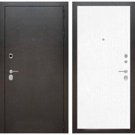 Входная металлическая дверь Бордер ФЛ-7 Белое дерево